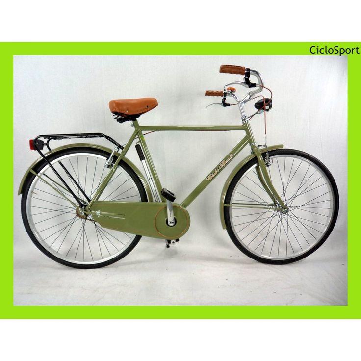 Bicicletta uomo Olanda 28 CicloSport Lusso - Verde