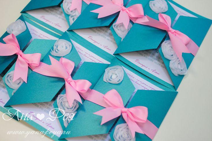 Свадьба бирюзово-розовая