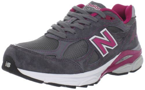 New Balance Women's W990 Running Shoe,Grey/Pink,10 D US New Balance,http://www.amazon.com/dp/B005P1YNES/ref=cm_sw_r_pi_dp_hVmFtb1FY68JK7JP