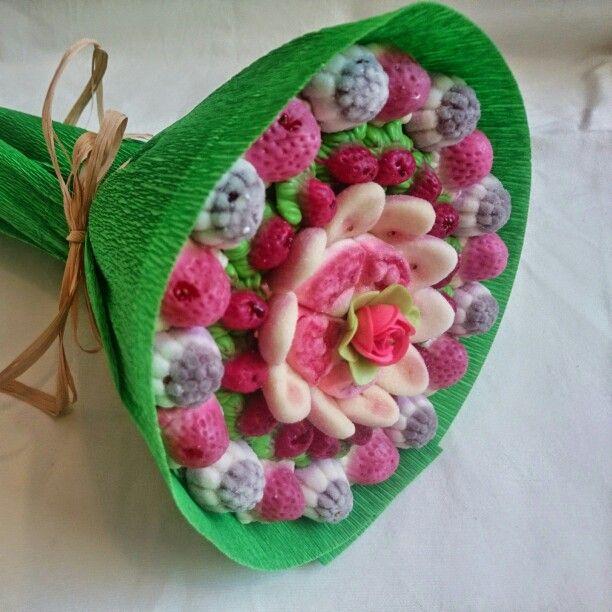 Candy bouquet | Ramo de #Chuches #Gominolas