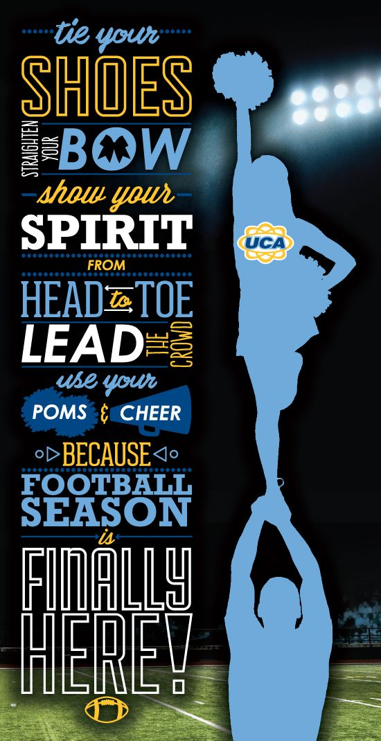 UCA wants to wish you Good Luck at your first game this year!