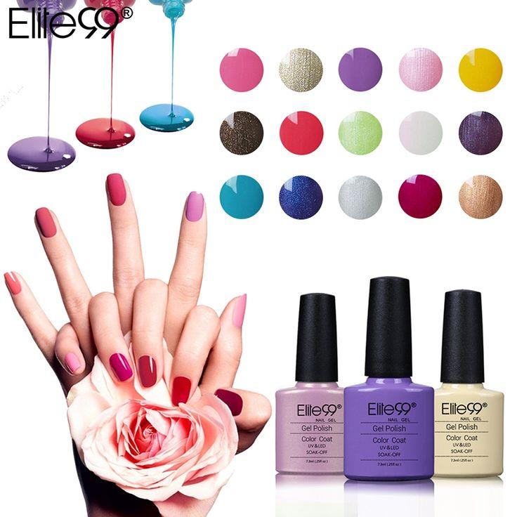 Discount Elite99 7 3ml Soak Off Nail Gel Long Lasting UV LED Lamp Cosmetic Art Manicure Nail. Click visit to check price