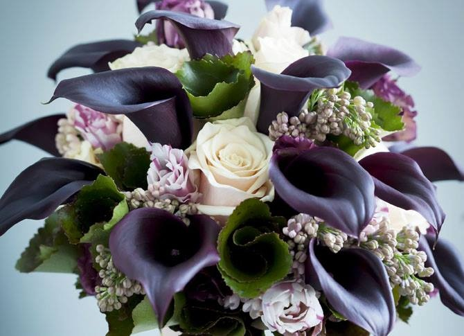 Several beautiful Calla arrangements for Wedding, Funeral and Corsages.