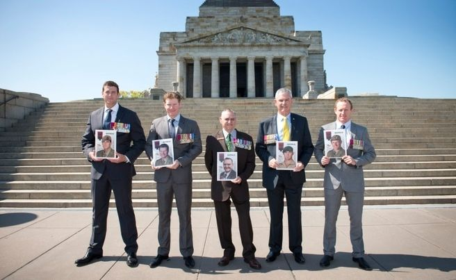 Australia's Victoria Cross recipients have spoken of the unbreakable mateship and ideals that drove them to their extraordinary acts of bravery.