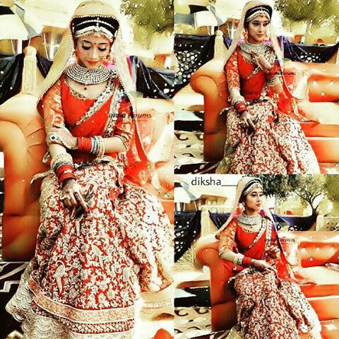 Beautiful bride shivangi joshi @shivangijoshi18