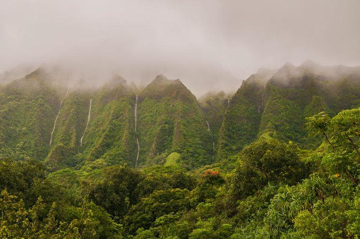 Montañas Koolau (Oahu, Hawái)