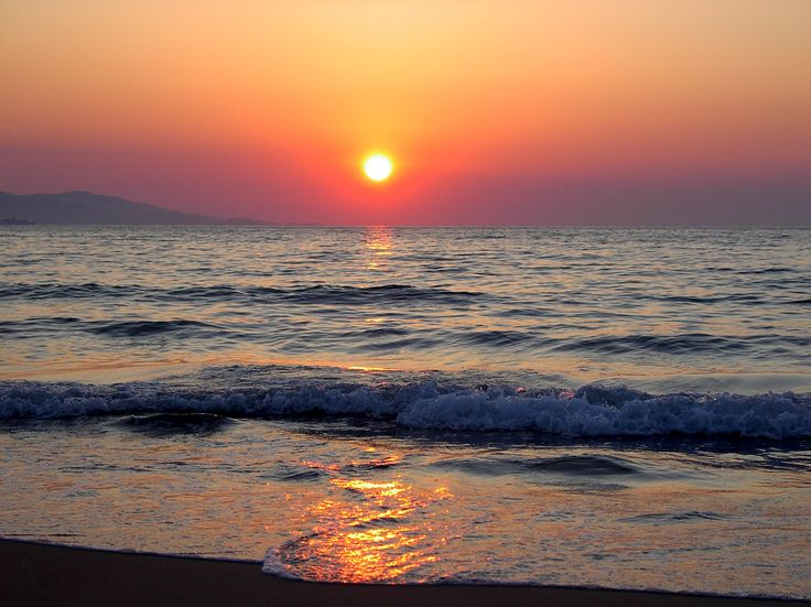 Beautiful Aquis Arina sunset #Greece