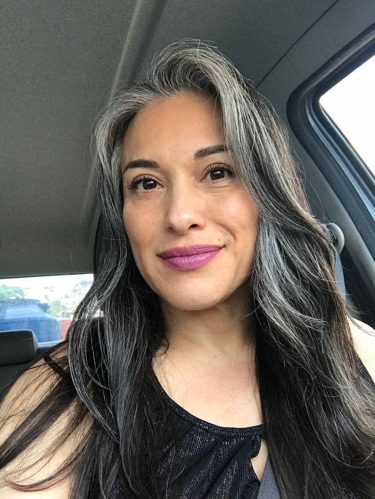 Wearing My Salt And Pepper Grey Hair