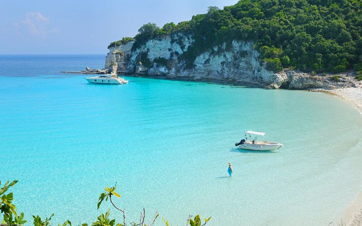 Voutoumi Beach on beautiful Anti-Paxos #Paxos #Greece