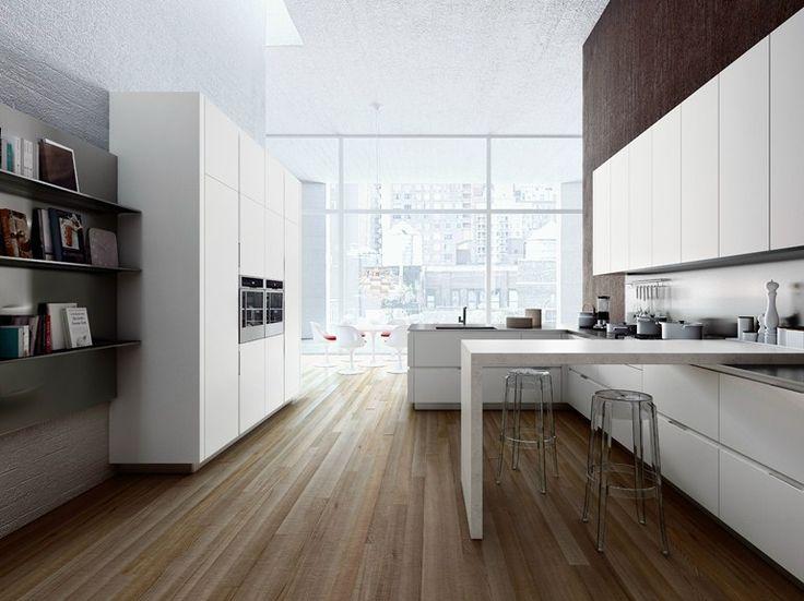 die besten 25+ contemporary kitchens with peninsulas ideen auf, Kuchen