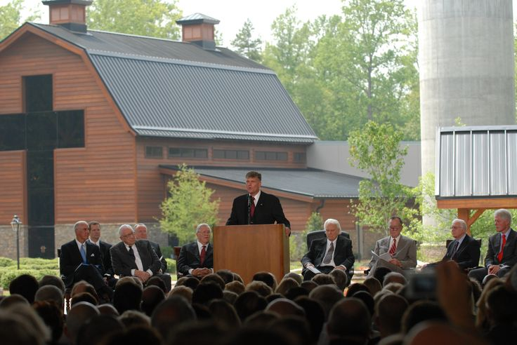 On This Date: Billy Graham Library Dedication—May 31, 2007