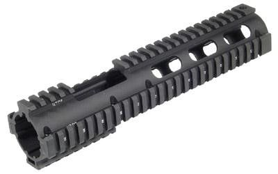Utg Pro 4-15 Carb Quad Rail W-ext Black