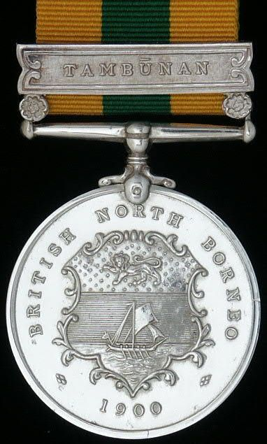 British North Borneo Company's Medal 1899 - 1900