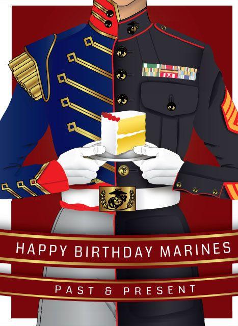 Happy Birthday Marines Past and Present! #usmc