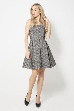 Sukienka sylwestrowa gorsetowa.