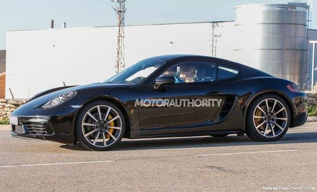 2017 Porsche Cayman Spy Shots