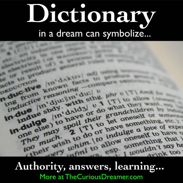 free dream dictionary and meanings