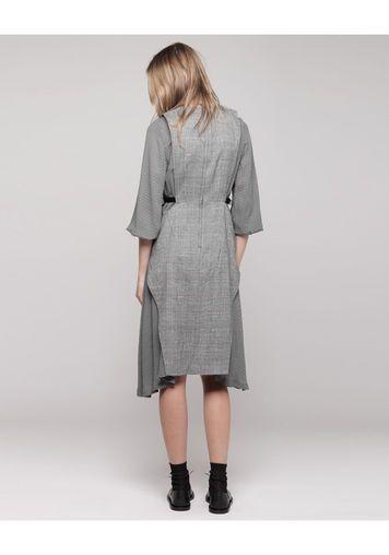 Toga Pulla   Check Wool Dress   La Garçonne
