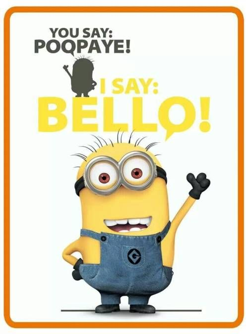The minion language is known as Minionese or Banana Language for their passion for Bananas. Learn how to speak minion language minionese easily!
