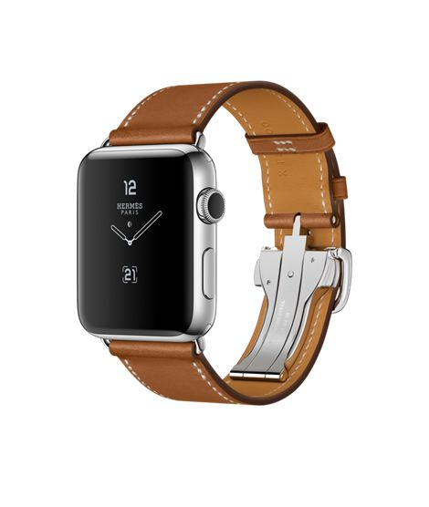 Shop Apple Watch Hermès Series 2 with built-in GPS in 42mm Stainless Steel with Single Tour Deployment Buckle. Buy now with fast, free shipping.