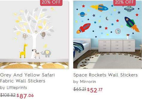 Up to 30% off home accessories, wall decor at Not on the High Street.