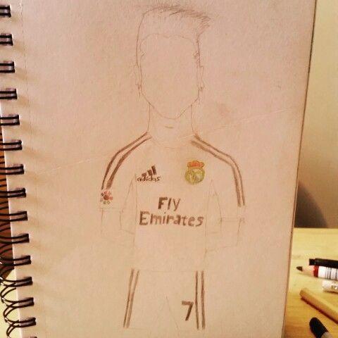 Cristiano Ronaldo cartoon start