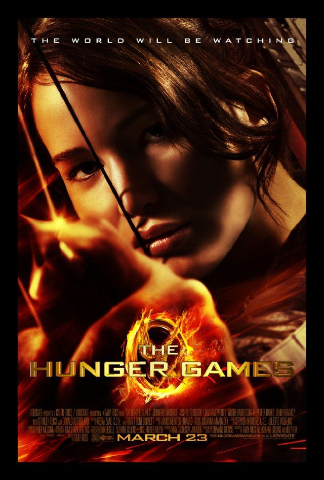 The Hunger Games-loved the books, can't wait to see the movie!