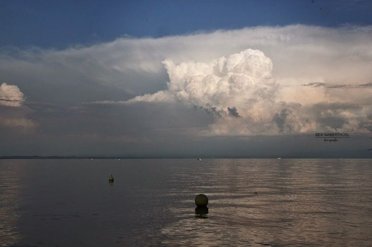 Bodensee - Anfang September - war für ein Sonnenuntergang