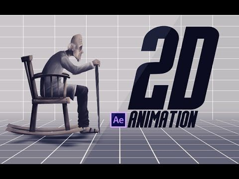 AFTER EFFECTS TUTORIAL :2D Animation in after effects - YouTube
