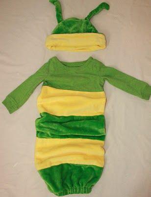 Worm costume