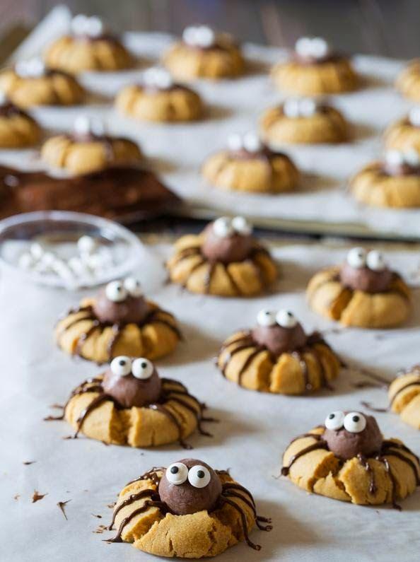 Bonjour à tous,    Je vous l'avais promis il y a quelques jours, voici la recette et le tutoriel pour réaliser de délicieux cookies araig...