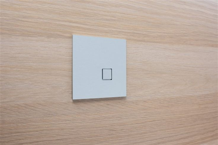 Design Switch 'LOLA' / KNX & 24v / 14 high-end finishings!