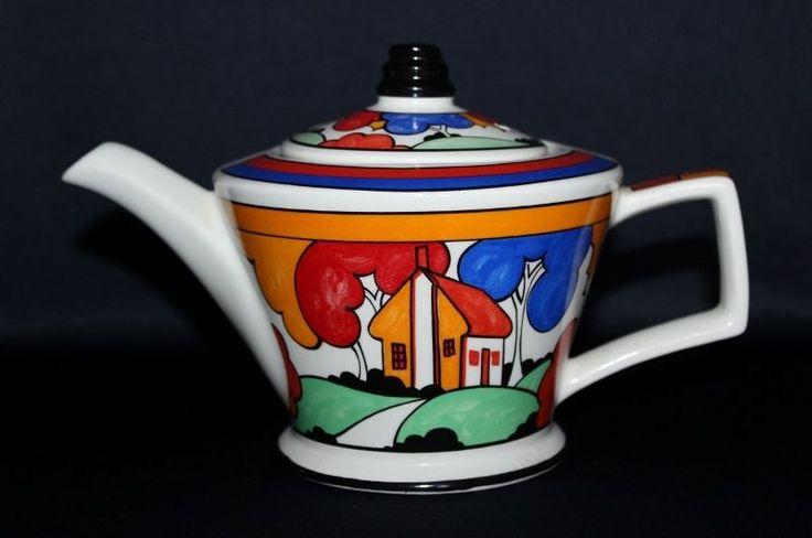 Stunning SADLER Tea Pot Red Roof Style