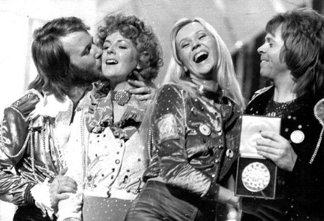 """ABBA,1974 """"Waterloo Time"""""""