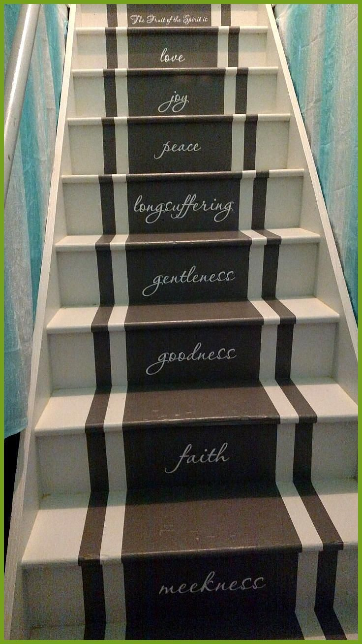 Best Adding Vinyl Stickers To The Basement Stairs Basement 400 x 300