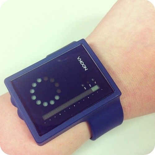 01.23.13 - daily watch : my new Nooka watch     Fact: almost every Nooka watch looks like a retro sci-fi wrist communicator.