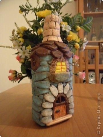 Декор предметов Лепка Мой домик Тесто соленое фото 4