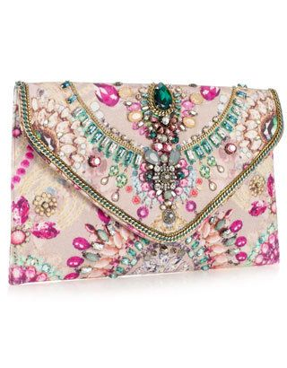 Bolso, bag, medraría, swarovski rosa pink. Accesorio  fashion moda estilo cute like awesome