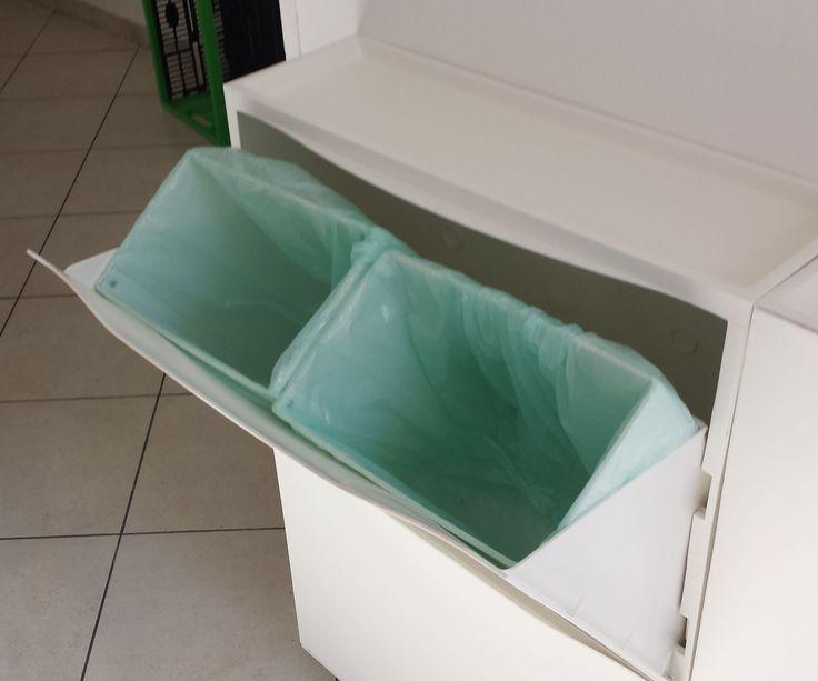 Las 25 mejores ideas sobre cubo basura reciclaje en pinterest almacenamiento de alimentos - Cubos de basura originales ...