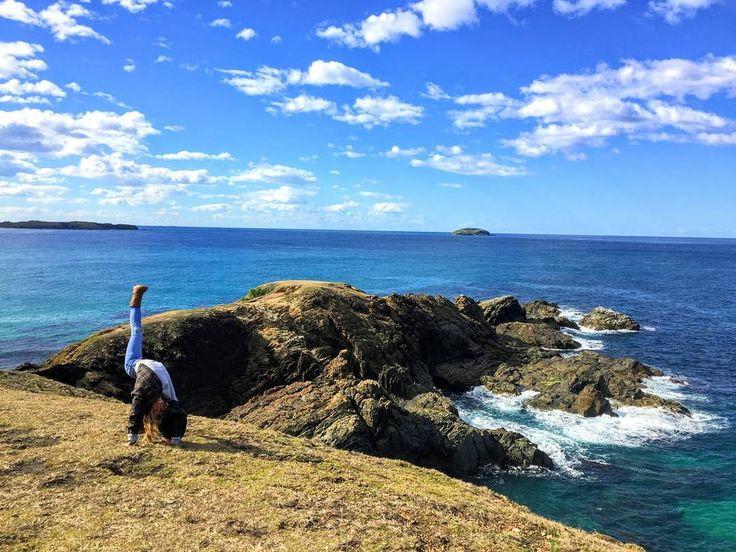 Discovering new chunks of Australia's coastline #lookatmenowheadland #seeaustralia #sydneystrengthconditioning
