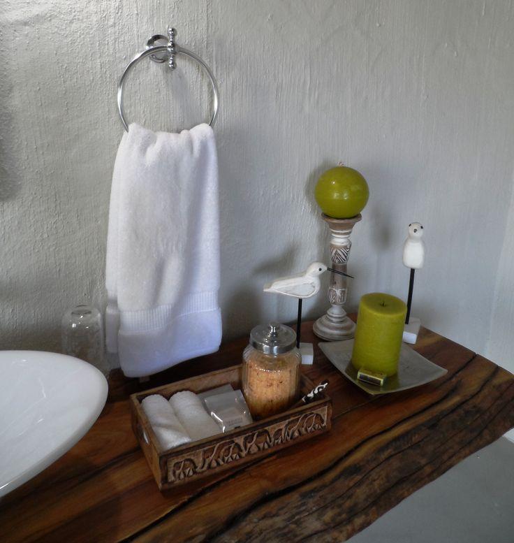 Luxury bathroom amenities in family bathroom.