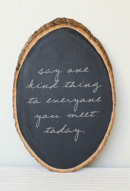 Another great chalkboard paint idea! Love it :)