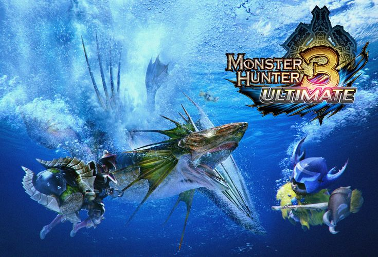 monster hunter 3 ultimate  Plesioth