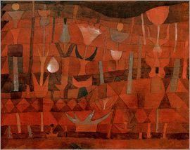 Paul Klee - Indian Flower Garden