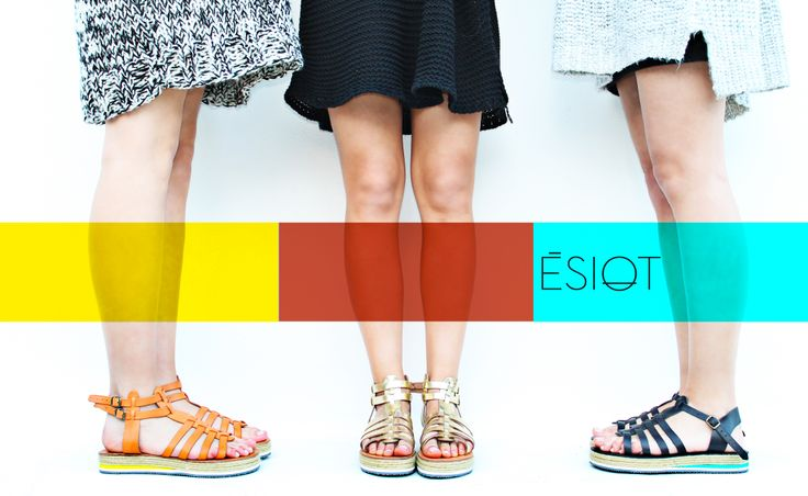 Premium quality handmade sandals designed by Irene Sioti.  Find them here: www.esiot.gr