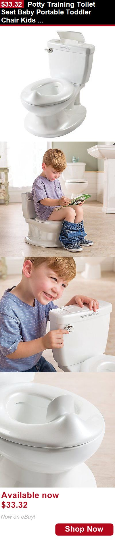 Potty Training: Potty Training Toilet Seat Baby Portable Toddler Chair Kids Girl Boy Trainer BUY IT NOW ONLY: $33.32