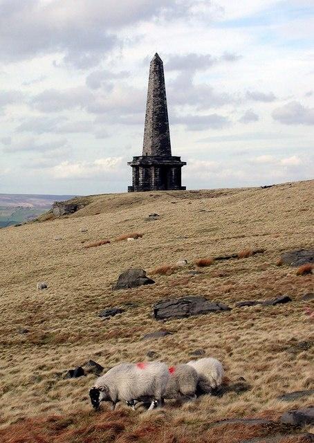 Stoodley Pike monument, Todmorden