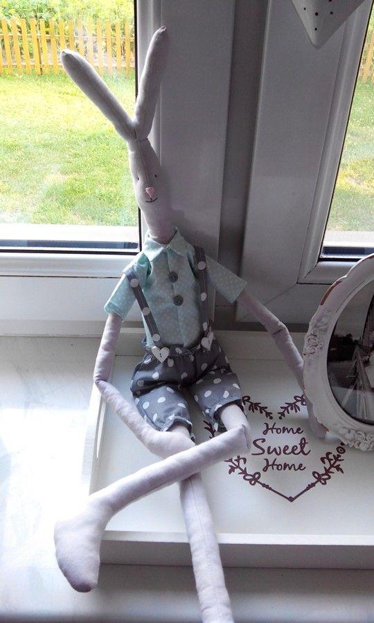 #rabbit # maileg #królik #zając #zabawka #diy #handmade #scandi