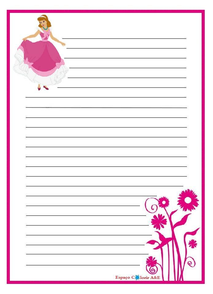 Pin Papel De Carta Cute Kawaaii On Pinterest Journal Cards Free Printable Stationery Printable Lined Paper