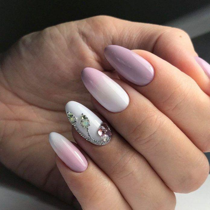 Ovale Maniküre: Über 30 Modeideen und neue Designs für 2019 auf dem Foto – Nails Art